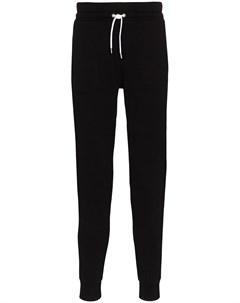 Зауженные спортивные брюки Maison kitsuné