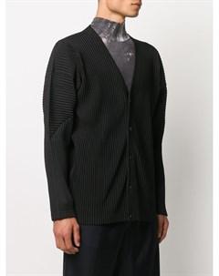 Плиссированная куртка Homme plissé issey miyake