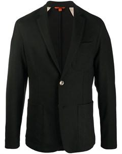 Однобортный пиджак строгого кроя Barena