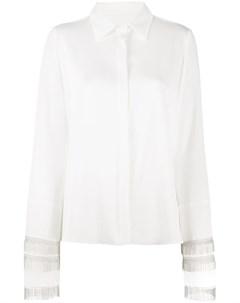 Рубашка с бахромой на манжетах Galvan