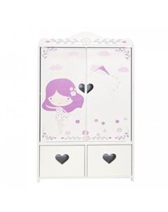 Шкаф для кукол Пьемонт Адриана Мини Paremo
