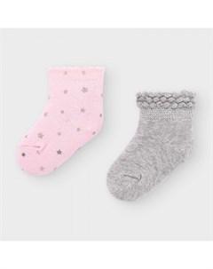 Newborn Носки для девочки 2 пары 9307 Mayoral