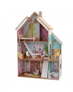 Кукольный домик Джульетта с мебелью 12 элементов Kidkraft
