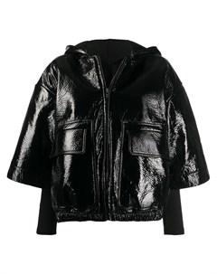Укороченная куртка с накладными карманами Rick owens drkshdw