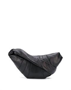 Матовая сумка на плечо Lemaire