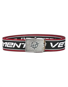 Ремень с вышитым логотипом Vetements