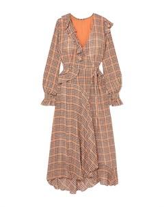 Платье длиной 3 4 Preen line