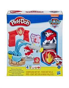 Игровой набор Щенячий патруль Маршал Play-doh