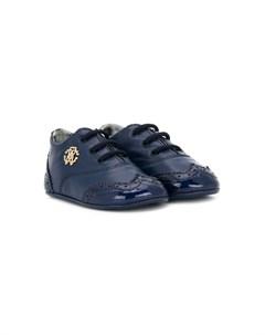 Пинетки на шнуровке Roberto cavalli junior