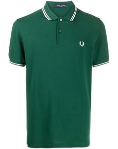 Рубашка поло с вышитым логотипом Fred perry