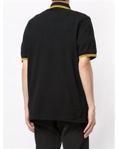 Рубашка поло с отделкой в полоску и логотипом Fred perry