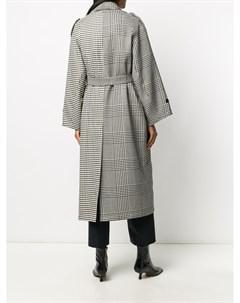 Клетчатое пальто оверсайз Barena