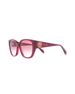 Солнцезащитные очки в оправе кошачий глаз Alexander mcqueen eyewear
