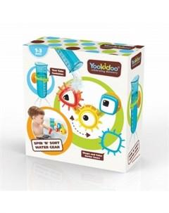 Игрушка для ванны Разноцветные шестеренки разноцветный Yookidoo