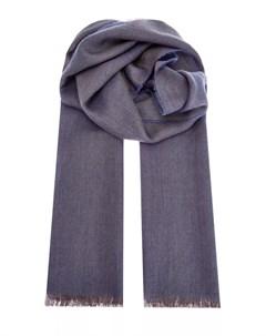 Кашемировый шарф из пряжи двух оттенков Bertolo cashmere