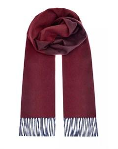 Двухцветный кашемировый шарф Bertolo cashmere