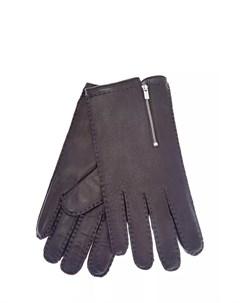 Перчатки ручной работы из гладкой кожи Cortigiani