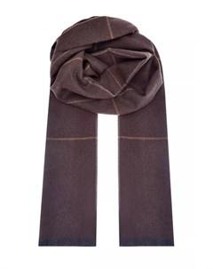 Шарф из теплой шерсти Virgin Wool Bertolo cashmere