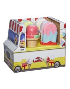Игровой набор Мороженое эскимо на палочке Play-doh