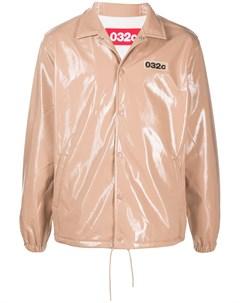 Куртка рубашка с вышитым логотипом 032c