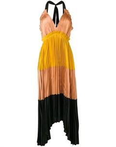 Плиссированное платье миди Ulla johnson