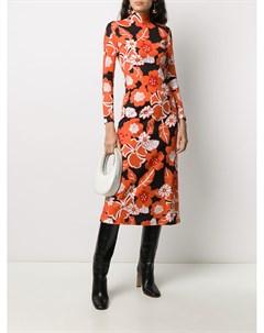 Платье с цветочным принтом Rokh