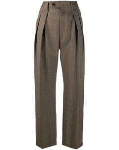 Строгие брюки с завышенной талией Barena