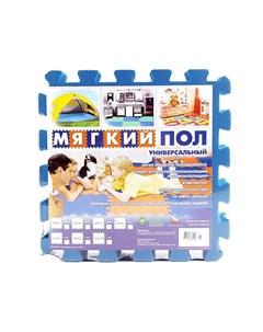 Игровой коврик мягкий пол 33x33 см 9 деталей Eco cover