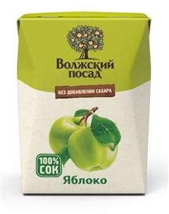 Сок Волжский посад Яблоко 0 2л Нектар
