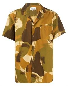 Рубашка с камуфляжным принтом Ymc