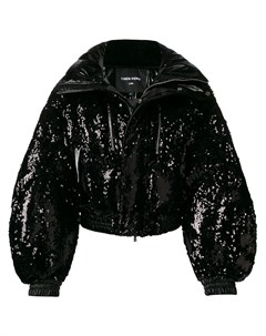 Куртка пуховик с пайетками Chen peng
