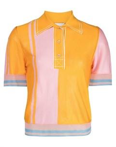 Рубашка поло в стиле колор блок I-am-chen