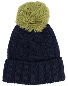 Вязаная шапка бини Super duper hats