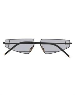солнцезащитные очки кошачий глаз Fendi eyewear