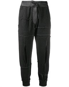 Кашемировые спортивные брюки с эластичным поясом Andrea ya'aqov