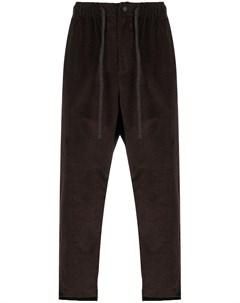 Вельветовые брюки с низким шаговым швом Maison flaneur