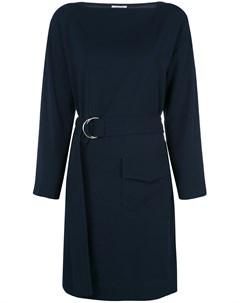 Платье с поясом и карманом Nomia