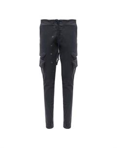 Хлопковые брюки карго Greg lauren
