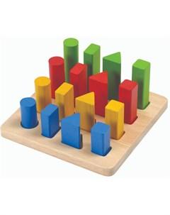 PLAN TOYS Геометрический сортер Plan toys