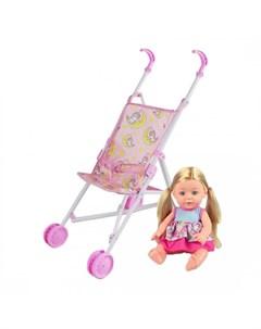 Коляска для куклы Единорог M0609 1B Наша игрушка