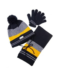 Комплект шапка шарф перчатки Super cars kids boys Playtoday