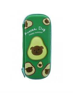 Пенал школьный маленький 3D Авокадо Avocado Dog Mihi mihi