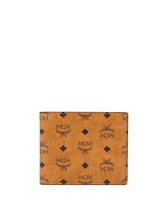 Бумажник с логотипом Mcm