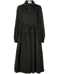 Расклешенное пальто с высоким воротником Molly goddard