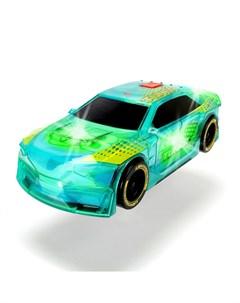 Машинка фрикционная со световым тюнингом 20 см Dickie toys