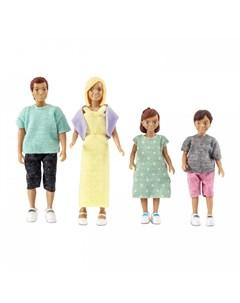 Набор кукол для домика классическая семья Lundby