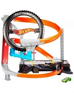 Hot Wheels Сити игровой набор Шиномонтажная мастерская Mattel