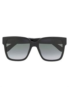 Солнцезащитные очки в квадратной оправе Givenchy eyewear