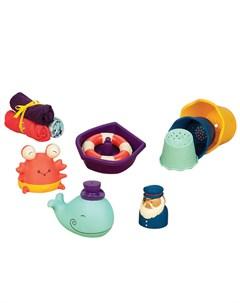 Набор игрушек для ванной Давай плескаться B.toys