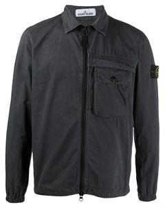 Куртка рубашка на молнии Stone island